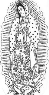 Skillful Ideas Vi Best Virgen De Guadalupe Coloring Pages