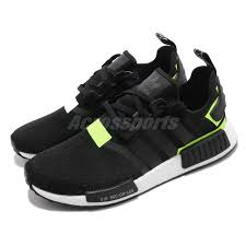 Details About Adidas Originals Nmd_r1 White Black Solar Men Running Shoes Sneakers Bd7751