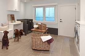 laundry room ceramic tiles on the floor