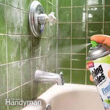 spray a cleaner
