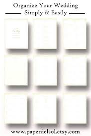 Printable Wedding Planner Diy Wedding Planner