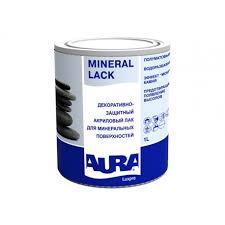 <b>Лак Aura Mineral</b> Lack 1л <b>акриловый</b> полуматовый для ...