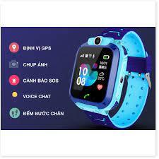 Đồng hồ định vị trẻ em Q12 chống nước có camera - bảo hành 12 tháng 1 đổi 1  - Đồng Hồ Thông Minh Thương hiệu No Brand