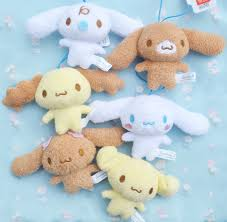 One day the owner of cafe cinnamon looked up to see a puppy floating in the sky like a fluffy cloud. Cinnamoroll And Friends Plush Momoiro Market