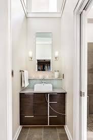 modern bathroom towel bars. A Modern Bathroom In Renovated Historic Craftsman Bungalow. Brown Stone Ceramic Tile, Modern. Towel BarsWhite Bars H