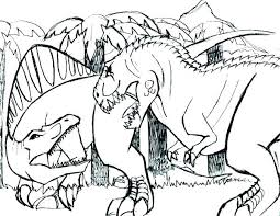 Dino Coloring Pages T Dinosaur Coloring Pages Tyrannosaurus Coloring