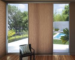 image of window treatments for sliding glass doors