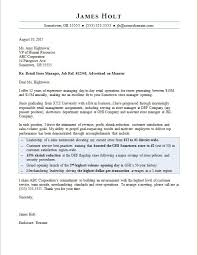 Sample Cover Letter For Retail Operations Manager Adriangatton Com