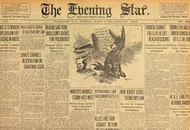 1960s Newspaper Template The Grammarphobia Blog Whats In A Nameplate