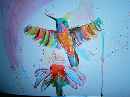 abstract bird painting new abstract watercolor watercolour bird painting by