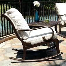 rocking patio furniture outdoor rocking chair canadian tire