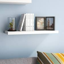 Where To Buy Floating Wall Shelves Mesmerizing Ebern Designs Board Line Floating Wall Shelf Reviews Wayfair