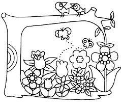 Coloriage Fleurs