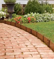 free garden border ideas for prepossessing easy landscape edging