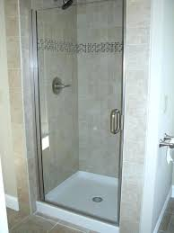 tempered glass shower door semi with 1 4 clear tempered glass tempered glass shower door shattered