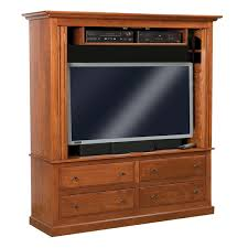 Contemporary Mission Enclosed TV Cabinet | Amish Furniture, Amish ...