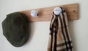 Golf Coat Rack Golf Ball Coat Hook 6