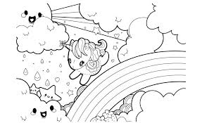 really cute unicorn coloring pages cute unicorn coloring pages printable children rainbow under c unicorn coloring
