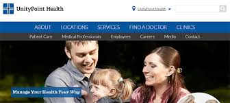 Www Myunitypoint Org My Chart Online Health Information
