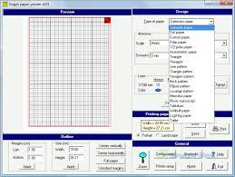 Graph Paper Printer Screenshot And Download At Snapfiles Com