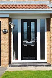 astonishing front door side panel front doors unique coloring front door with side panel black