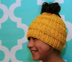 Bun Hat Pattern New Ravelry Messy Bun Hat Pattern By Isela Phelps
