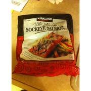 kirkland signature wild alaskan sockeye salmon nutrition