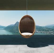 Modern Hanging Chair Modern Wicker Outdoor Egg Chair Design Milk