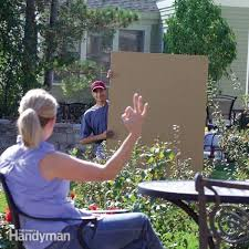 how to build a privacy fence build a