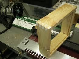 Hart Design Dovetail Jig First Box Joints W A Hart Design Jig Router Forums