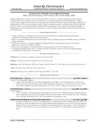 Network Specialist Resume Senior Network Engineer Resume