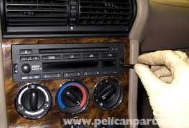 bmw z3 radio removal and replacement 1996 2002 pelican parts using the 5 sided radio tool loosen the radio fasteners about 10 turns
