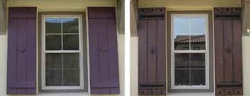 faux wrought iron exterior shutters. board \u0026 batten shutters w/ agave ironworks wrought iron clavos faux exterior