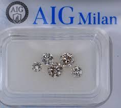 <b>4 pcs</b> Diamond - 1.01 ct - Round - <b>Mix Colors</b> - SI2, VS2, No Reserve ...
