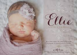 newborn baby announcement sample gallery sample birth announcement wording announcements for girls