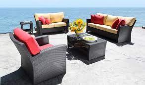 choosing sunbrella patio furniture by