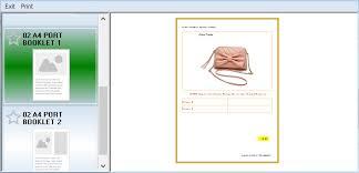 Line Sheet Maker Free Brochure Templates Portrait Orientation
