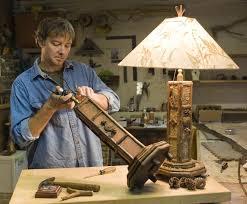 custom made rustic table lamp rustic table lamps59
