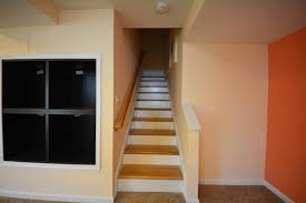 Stair Basement Stair Ideas Unfinished Basement Wall Ideas - Unfinished basement stairs