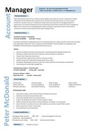 Account Manager Cv Template, Sample, Job Description, Resume