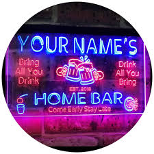 Personalized Light Up Bar Signs Best Rated In Neon Signs Helpful Customer Reviews Amazon Com