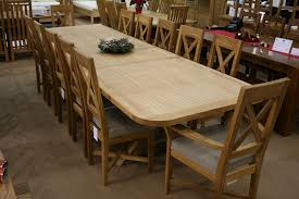 Amusing Enchanting Extendable Dining Table Seats 12 19 On Old Room Of ...