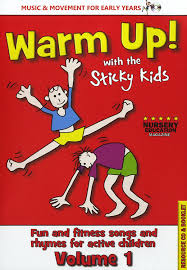 Warm Up With the Sticky Kids by The Sticky Kids Amazon.co.uk Music