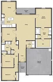 lgi homes floor plans. Plain Homes 4 BR 2 BA Floor Plan House Design In DallasFort Worth TX In Lgi Homes Plans B