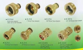 garden hose fittings. Garden Hose Quick Connectors Solid Br Inspiration Fittings