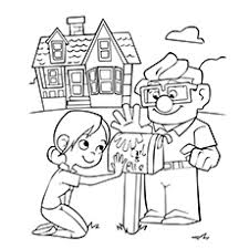 Small Picture Top 10 Up Movie Coloring Pages For Your Little Ones