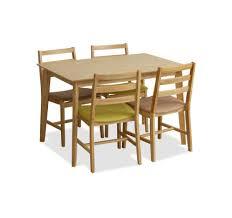 titus dining table natural set a 1 4