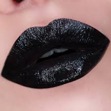 nyx professional makeup in your element fire lipstick in glossy black is just simply described as a glossy black shade i don t really like this lipstick