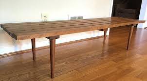 slat coffee table mid century vintage wood slat coffee table bench slat coffee table mid century slat coffee table