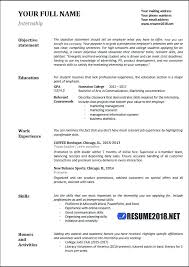 Basic Resume Samples Resume Format Latest Templates In Word Within